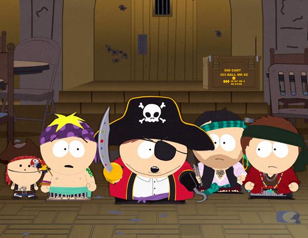 Det är svårt att inte vara pirat