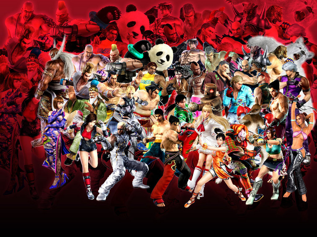 Söndagslistan: Tekken-karaktärer