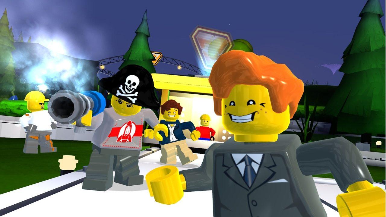 Svampriket (typ) har spelat LEGO Universe