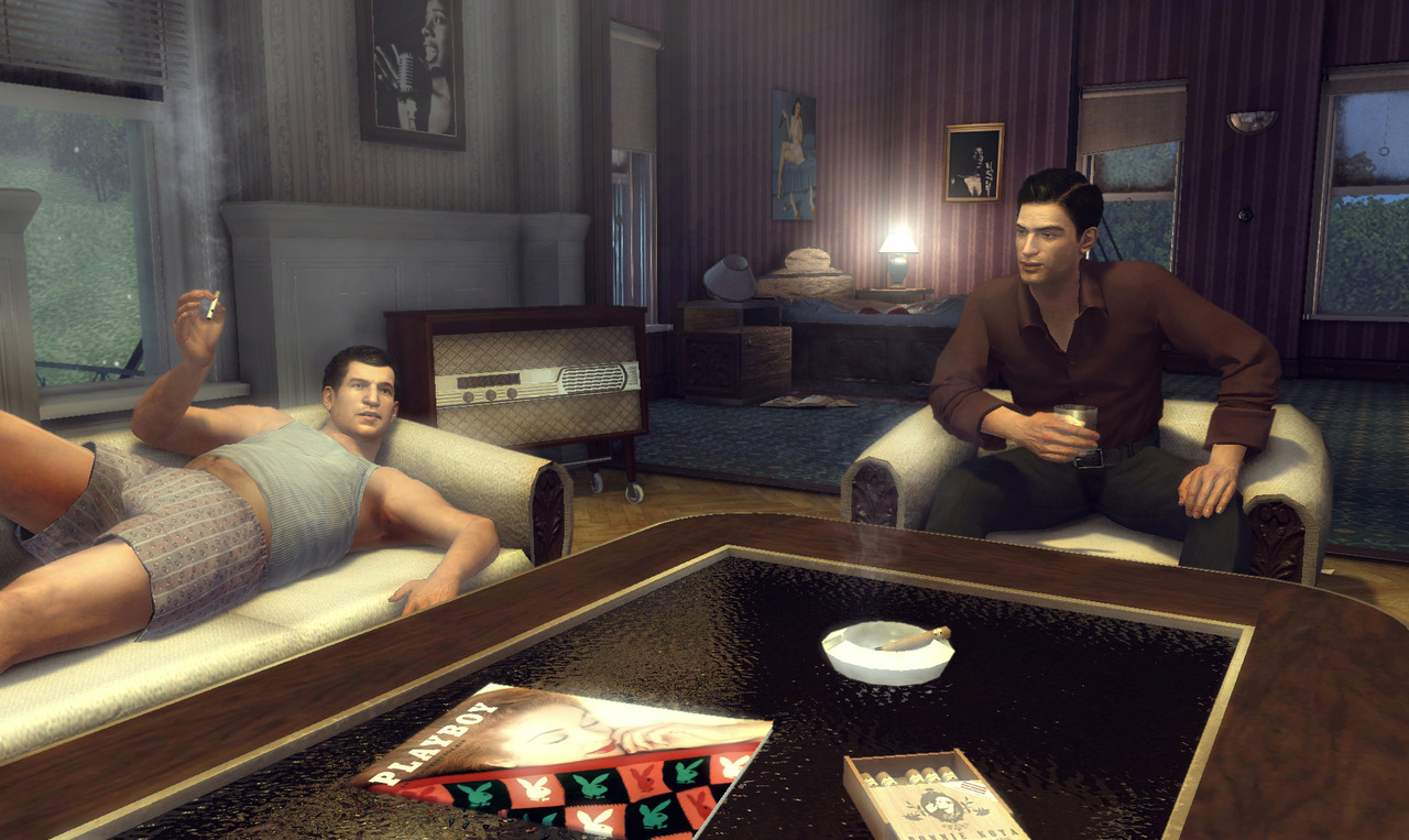 Ludde försvarar Mafia 2