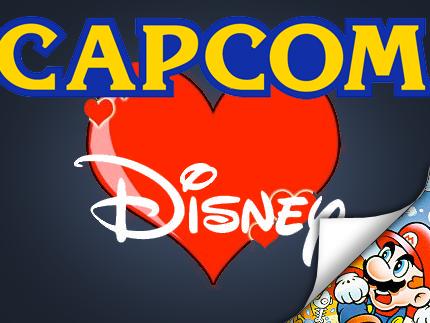 Capcom hjärta Disney
