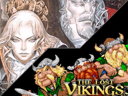 SOTN klart, Lost Vikings start