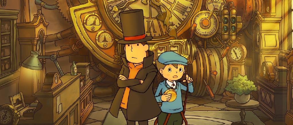 Recension — Professor Layton and the Unwound Future