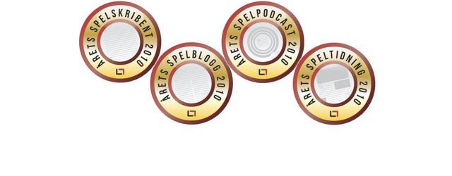 Svampriket nomineras till Bästa spelblogg 2010!