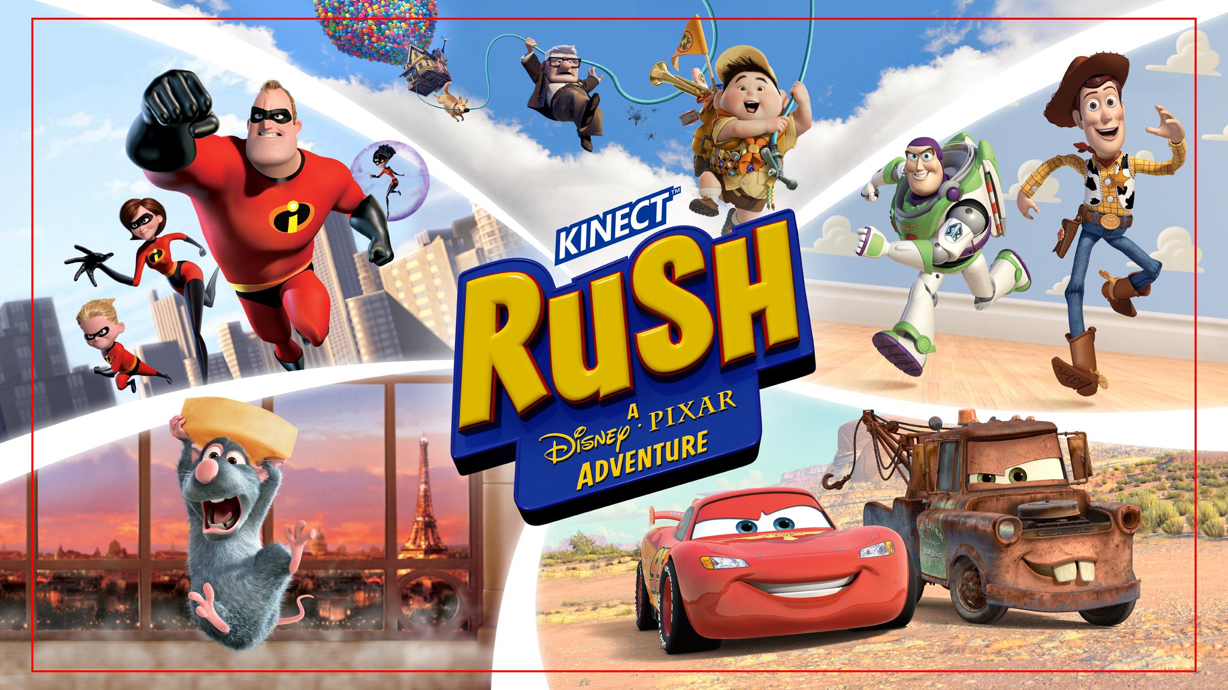 Kinect Rush: A Pixar Adventure (360)