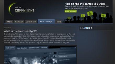 Problemet med Steam Greenlight