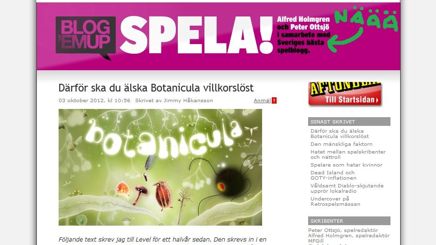 Öppet brev till Aftonbladet SPELA!