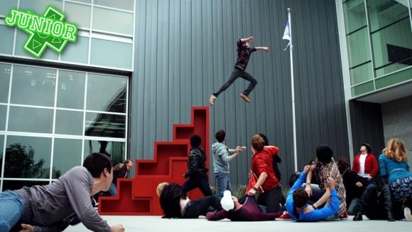 Bild från TV-serien Video Game High School.