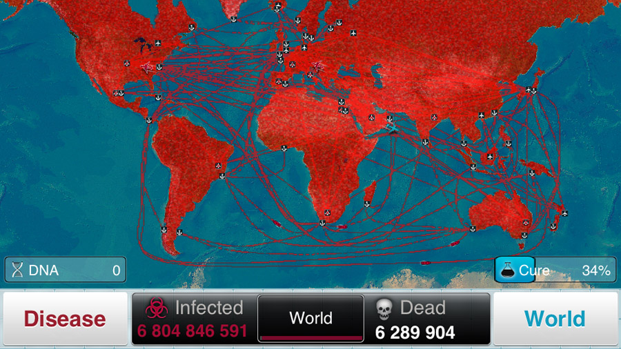 Plague Inc. (iOS)