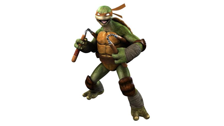 Turtles-spelet gör fel