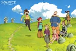 Svampriket möter Ghibli