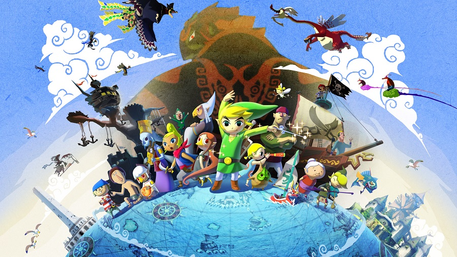 The Legend of Zelda: Windwaker HD (Wii U)