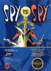 NES Spy vs Spy
