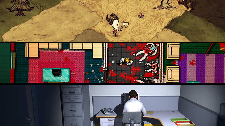 Avsnitt 59: Don't Starve, Hotline Miami, The Stanley Parable