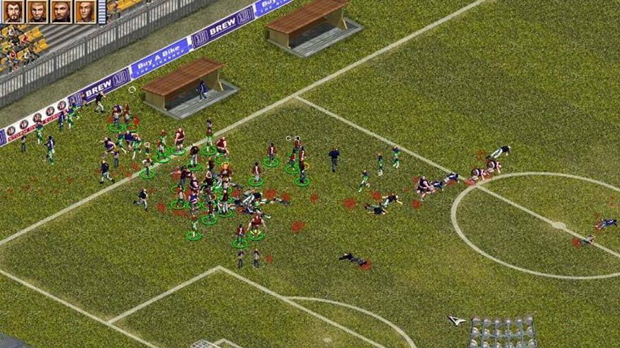 Skyll inte fotbollsvåldet på tv-spelen