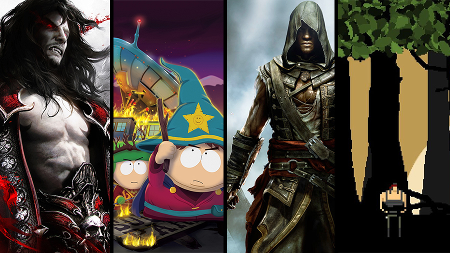 Avsnitt 65: Castlevania: Lords of Shadow 2, South Park: The Stick of Truth, Assassins Creed IV: Freedom Cry, Rambo: Last Blood