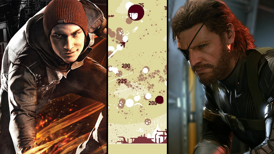 Avsnitt 68: Infamous: Second Son, Luftrausers och Metal Gear Solid V: Ground Zeroes