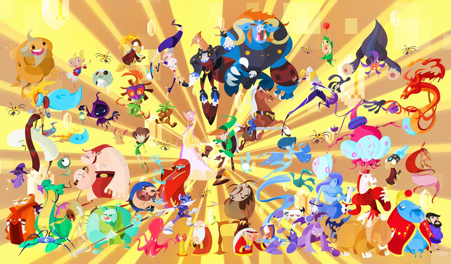 De fem sämsta Zelda-spelen