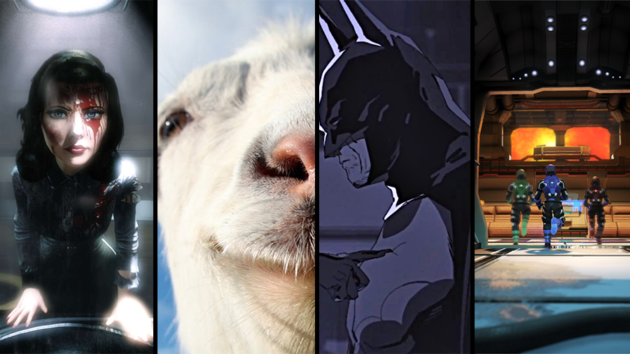 Avsnitt 70: Bioshock Infinite: Burial at Sea Episode 2, Goat Simulator, Batman: Arkham Origins Blackgate: Deluxe Edition, Project Temporality
