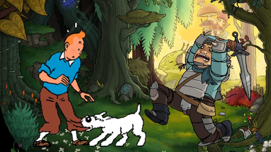 Anders Vs. Tintin, LIVE på långfredagen