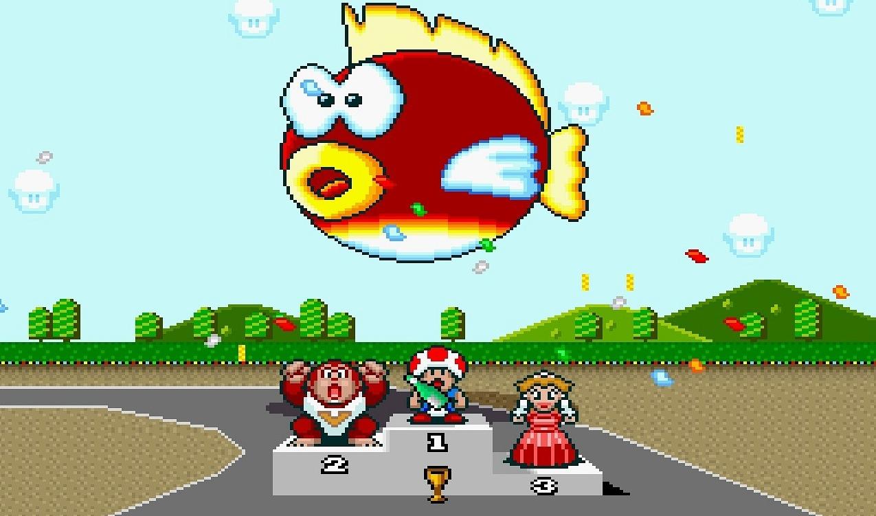Världens bästa Mario Kart-banor