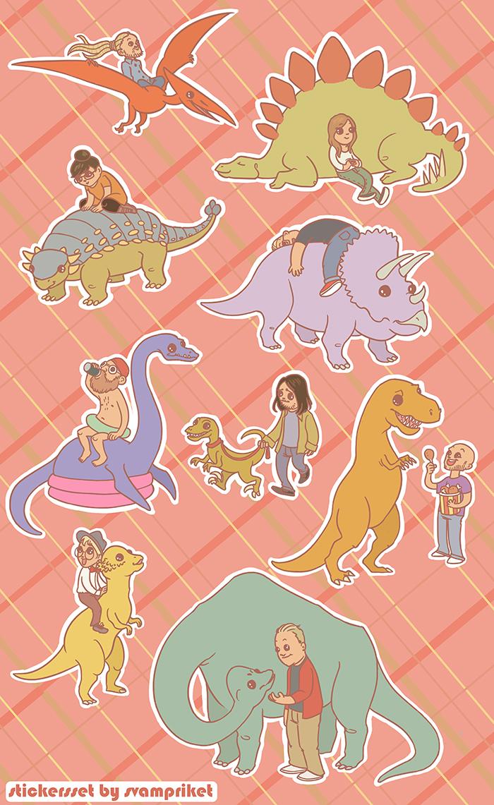 Softcore: Dino-dags