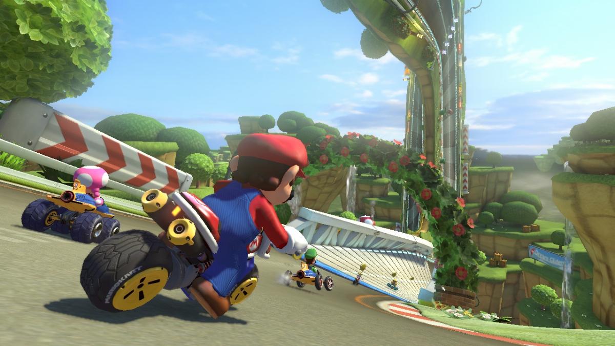 Lördagens Mario Kart 8-cup med Svampriket