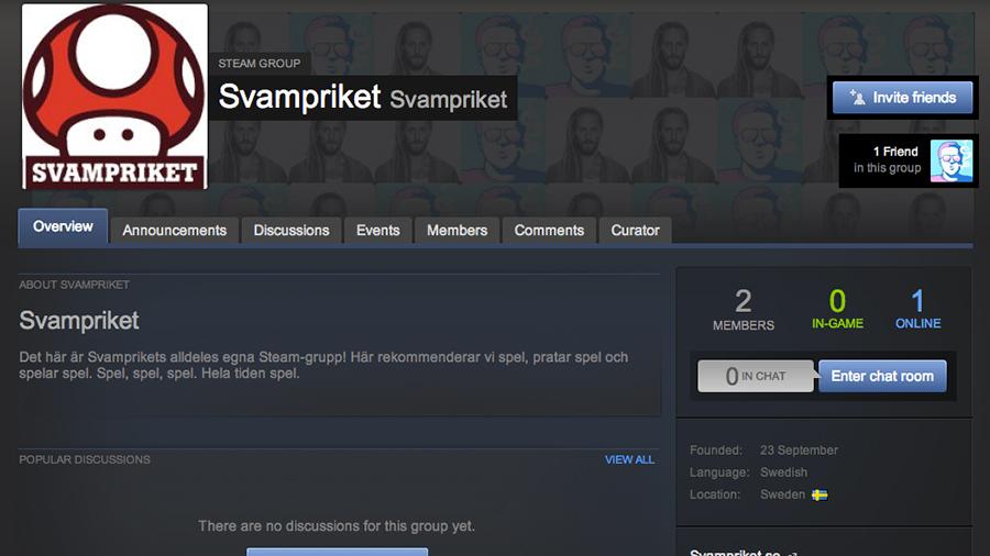 Svampriket finns äntligen på Steam!
