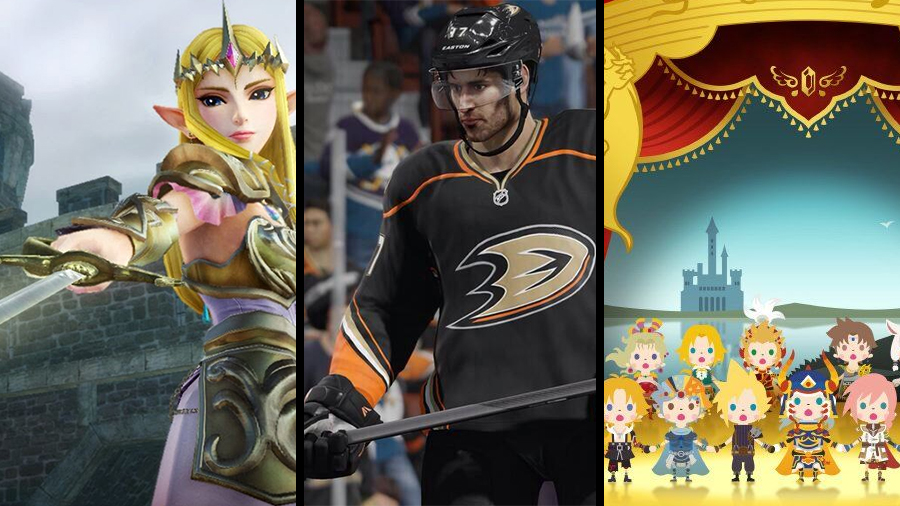 Avsnitt 85: Hyrule Warriors, NHL 15 och Theatrhythm Final Fantasy: Curtain Call