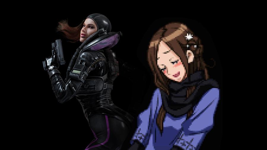 Om uppvaktningen från kvinnliga spelkaraktärer