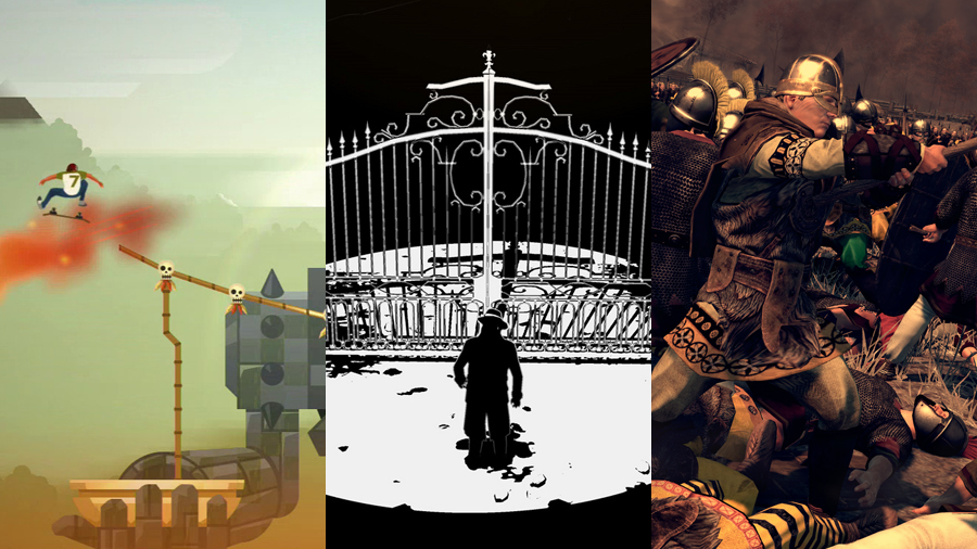 Tre snabba: Olliolli 2, White Night & Total War: Attila