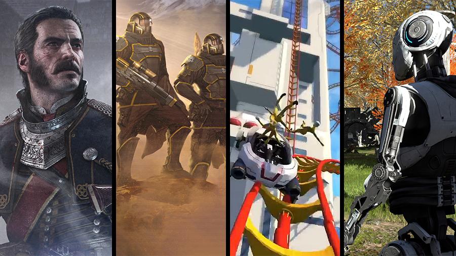 Avsnitt 105: The Order 1886, Helldivers, Pneuma: Breath of Life, The Talos Principle, Screamride, Trivial Pursuit Live & Monster Hunter 4 Ultimate