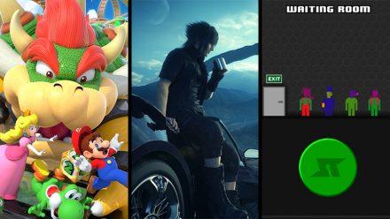 Avsnitt 107: Mario Party 10, Final Fantasy XV – Episode Duscae & Spaceteam