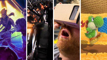 Avsnitt 118: Rockband 4, Hatred, Google Cardboard, Yoshis Woolly World och mer Splatoon