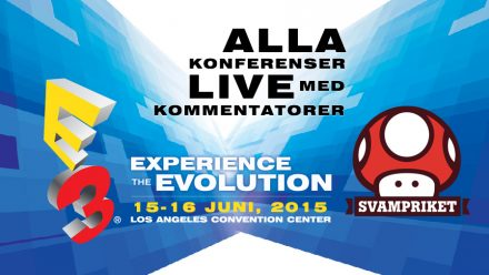 Svampriket LIVE – E3 2015
