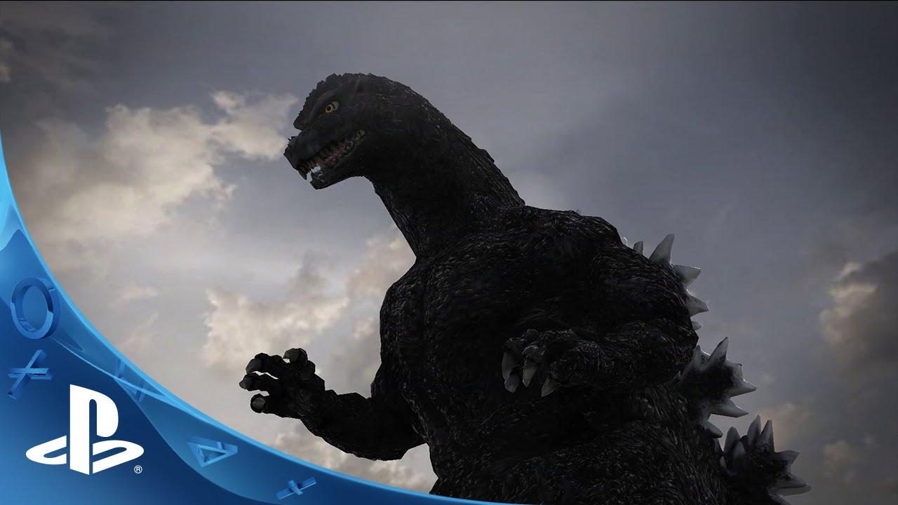 Första timmen som Godzilla