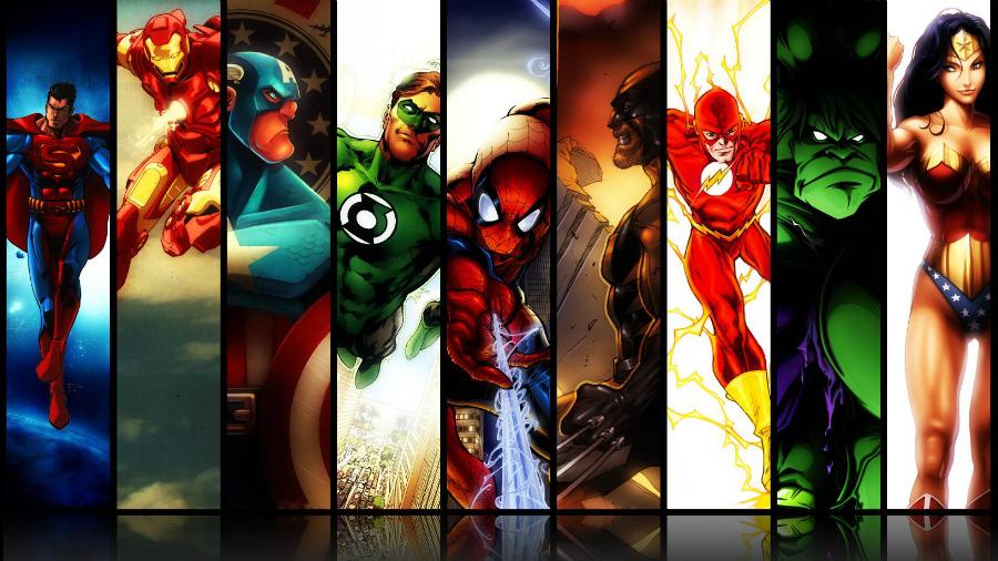 Topp 5 superhjältespel som inte är Batman