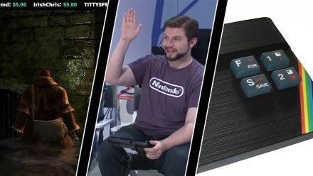 Twitch spelar Dark Souls, Nintendoanställd får sparken och ZX Spectrum kommer tillbaka
