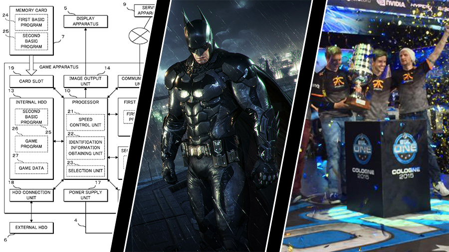 Nintendos konsolpatent, Batmans PC-patch och Fnatics majortitlar