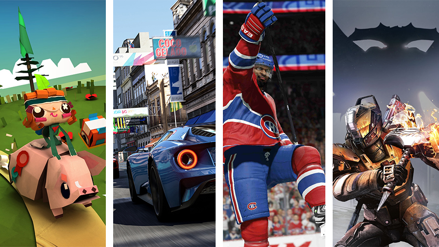 Avsnitt 123: Tearaway Unfolded, Forza Motorsport 6, NHL 16 och Destiny: The Taken King