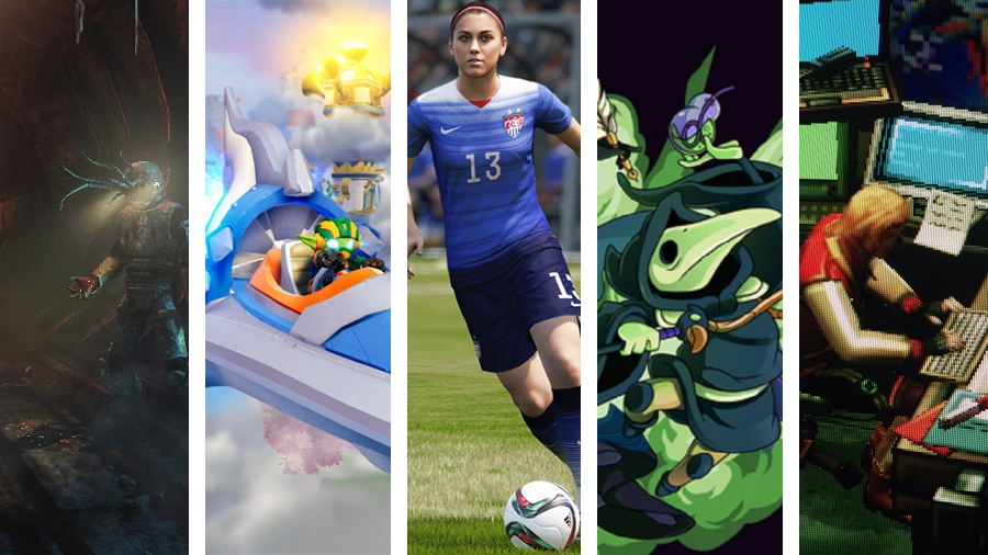 Avsnitt 124: SOMA, Skylanders Superchargers, FIFA 16, Shovel Knight: Plauge of Shadows och Else Heart.Break()