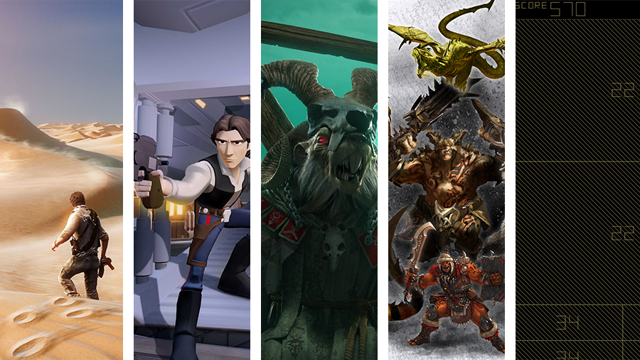 Avsnitt 125: Uncharted: The Nathan Drake Collection, Star Wars Rise Against The Empire, Warhammer Vermintide, Might & Magic Heroes 7 och Spl-t