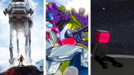 Avsnitt 126: Star Wars Battlefront beta, Transformers Devastation och Beginners Guide