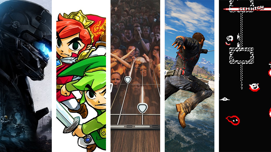 Avsnitt 128: Halo 5 Guardians, The Legend Of Zelda Triforce Heroes, Guitar Hero Live, Just Cause 3, Life Is Strange ep. 5 och Downwell