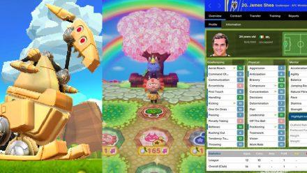 Tre snabba: Chibi-Robo: Zip Lash, Animal Crossing: Amiibo Festival och Football Manager 2016