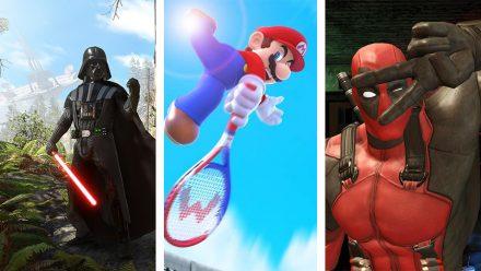 Avsnitt 132: Star Wars Battlefront, Mario Tennis Ultra Smash och Deadpool