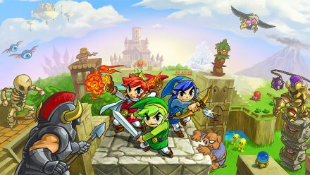 The Legend of Zelda: Tri Force Heroes (3DS)