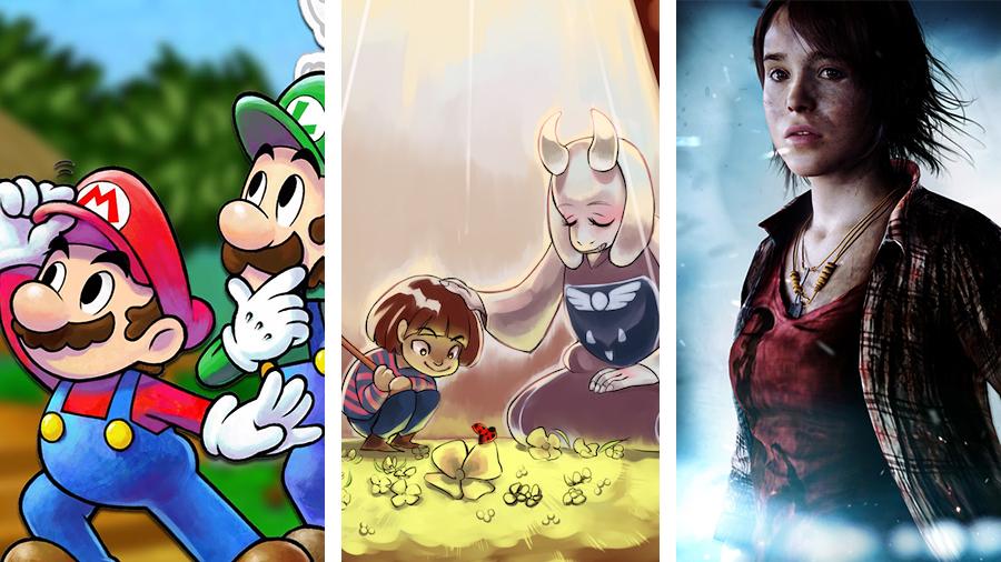 Avsnitt 134: Mario & Luigi Paper Jam Bros, Undertale & Beyond: Two Souls