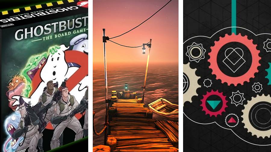 Avsnitt 135: Ghostbusters: The Board Game, Ether One och One Button Travel