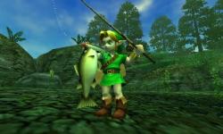 Fiske fanns såklart med i The Legend of Zelda: Ocarina of Time. En tradition som fiskeintresserade programmeraren Kazuaki Morita introducerade i Link's Awakening